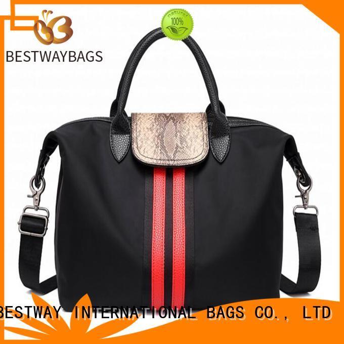 light nylon handbags black wildly for bech