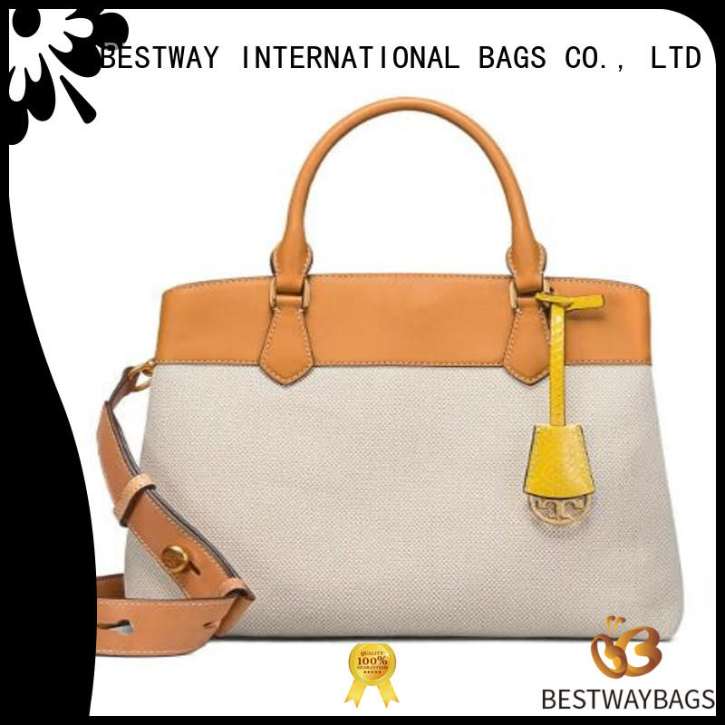 multi function canvas leather bag shoulder personalized for travel