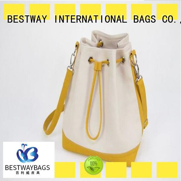 Bestway beautiful crossbody canvas tote bag factory for travel