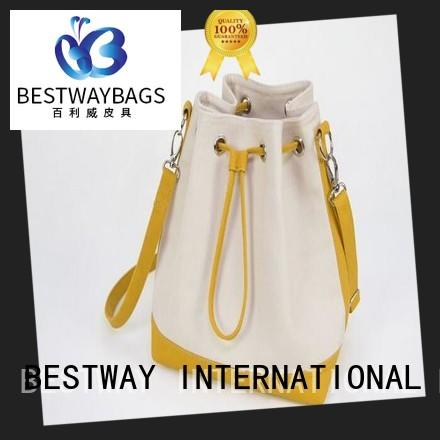 Bestway bucket canvas purse online for holiday
