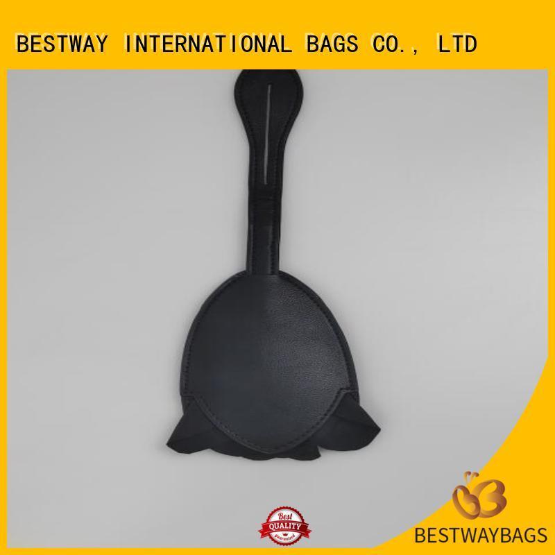 Bestway fashion leather purse charm manufacturer