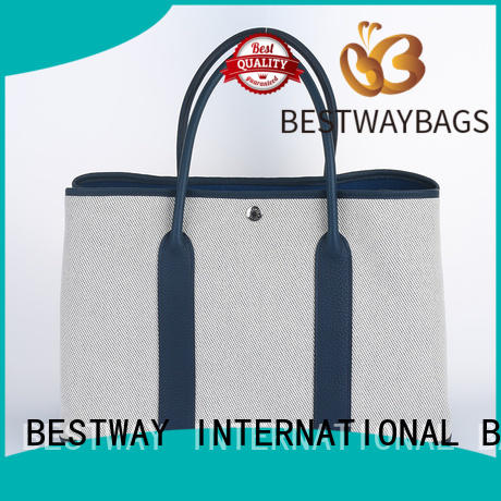 Bestway easy match custom canvas tote bags personalized for holiday