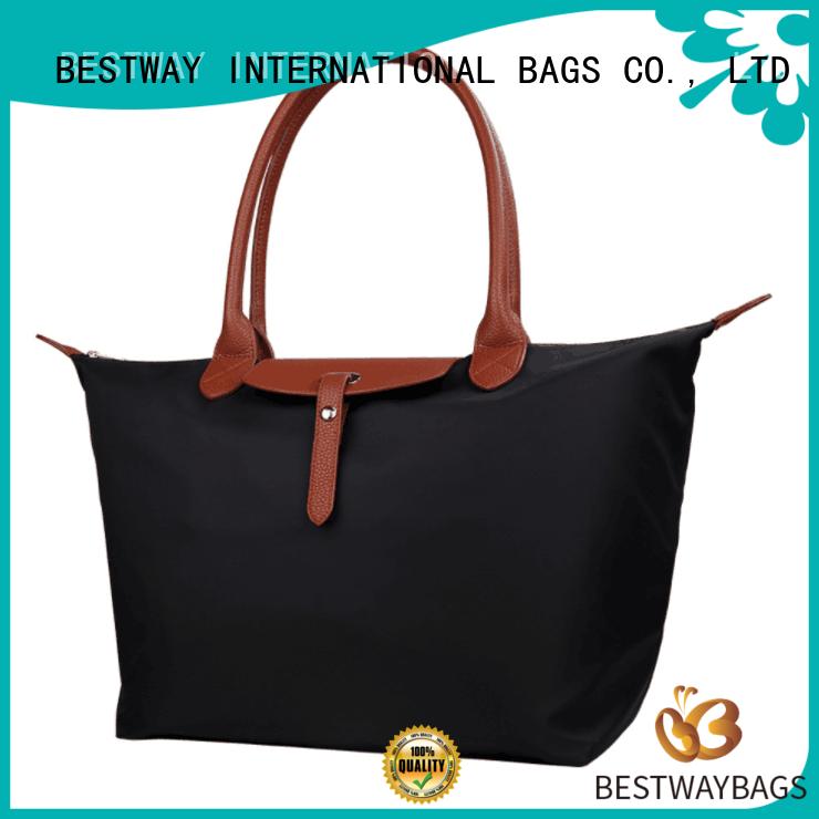 Bestway light nylon handbags supplier for gym