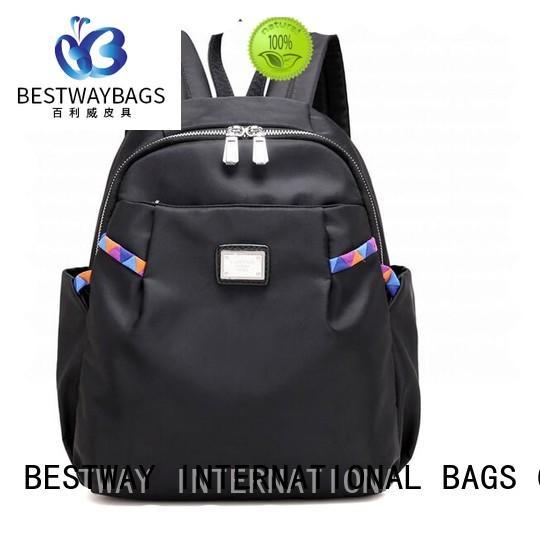 capacious nylon satchel handbag nylon supplier for sport
